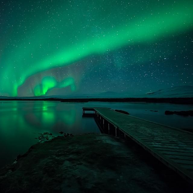 Norðurljós/Northern lights/Aurora borealis by nurdug2010, via Flickr