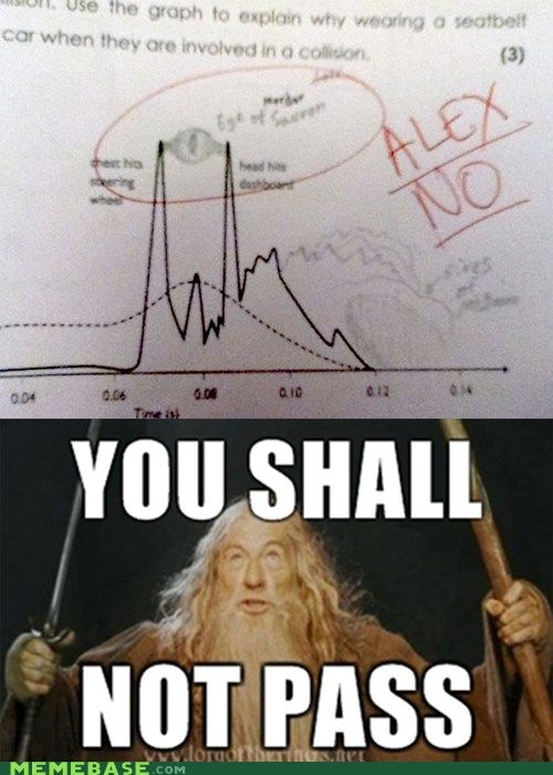 One Does Not Simply Pass