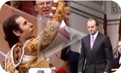 31/12/2012 'Si no me veo, no me creo':  Rafael De Paula, Mensaje al Rey (1989) - Mundotoro.com