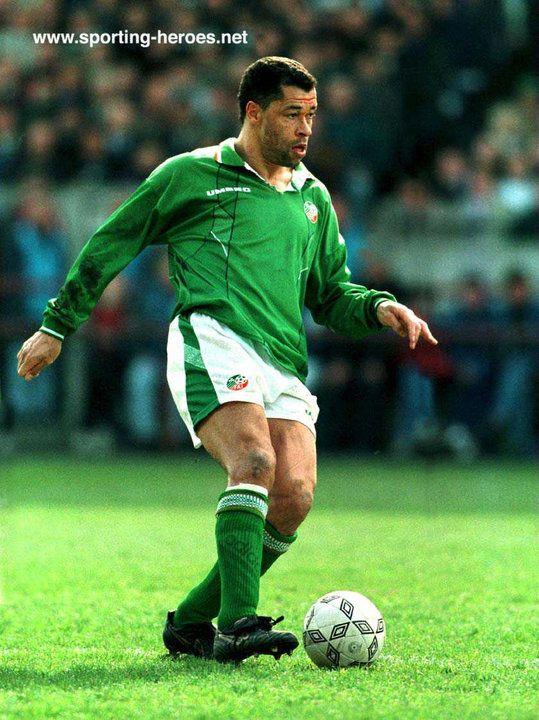 Paul McGrath - Ireland - International football caps for Ireland.