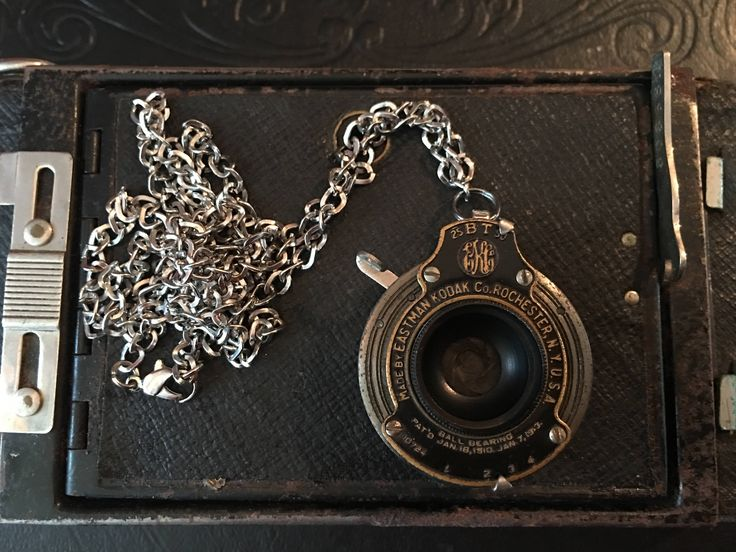 Antique Kodak Folding Camera Early 1900's Shutter Pendant, Jewelry, Necklace, Shutter, Steampunk by LegacyCameras on Etsy