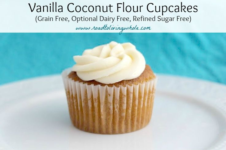 Finding a gluten free cupcake recipe that doesn't crumble while eating is a challenge. So I decided to look beyond the usual flours and decided coconut flour was the way to go. Coconut flour is an interesting one to work with. I have found I use less of it and you have to use …