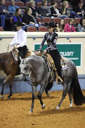 The bad stigma about passing is about to change. Judges are moving toward a quality before quantity approach in the western pleasure division. If a rider can build up the quality of their horses movement, they will score better at all gaits. Journal photo.