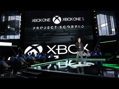 Xbox One SCORPIO E3 2016 Announcement - Let's Relive This Again
