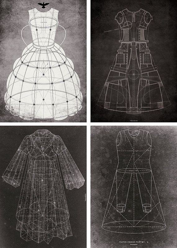 Dress Structure -- by Pop Life