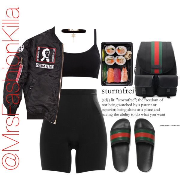 Tucci Gucci by mrsfashionkilla on Polyvore featuring SPANX, New Look and Gucci  ~K.D.