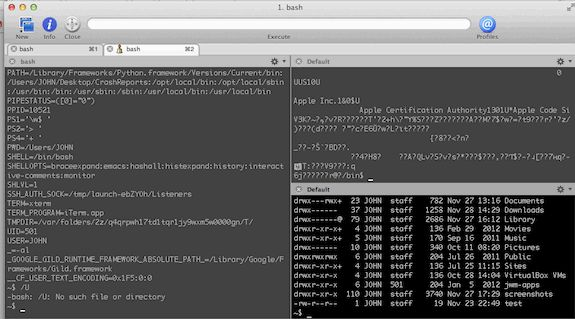 iTerm2 is an awesome Mac OS X Terminal replacement