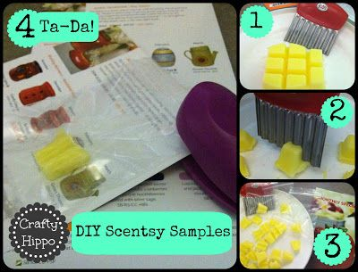 DIY Scentsy Samples for Consultants www.facebook.com/SimplyDevineScentsy