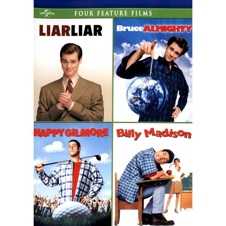 Liar Liar/Bruce Almighty/Happy Gilmore/Billy Madison [2 Discs]