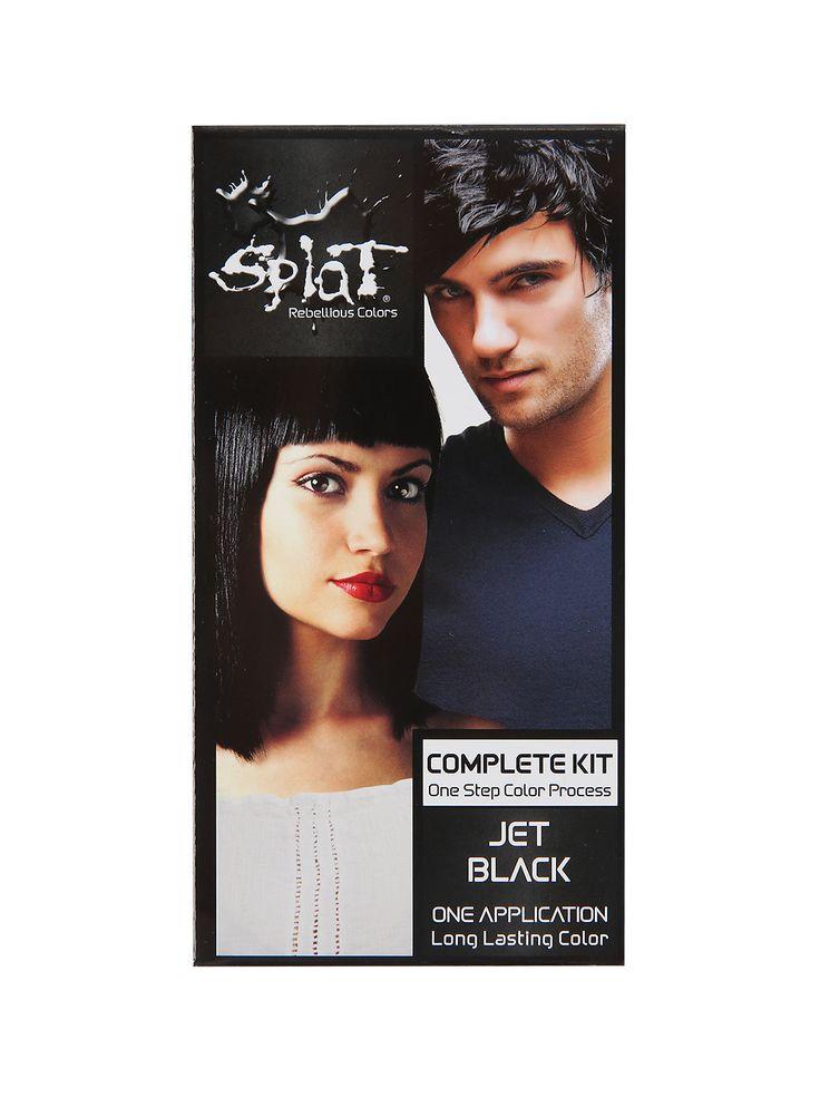 Splat Semi-Permanent Jet Black Hair Dye Kit   Hot Topic