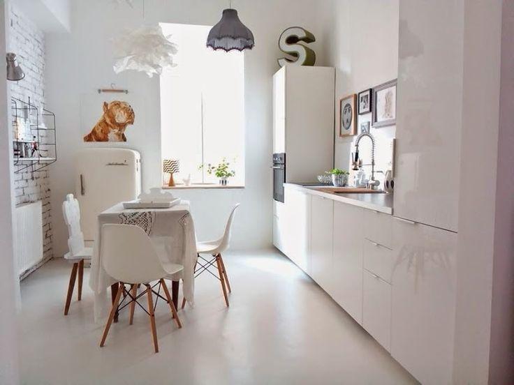 Idea for floor Hall + Kitchen + Rooms epoxy floor