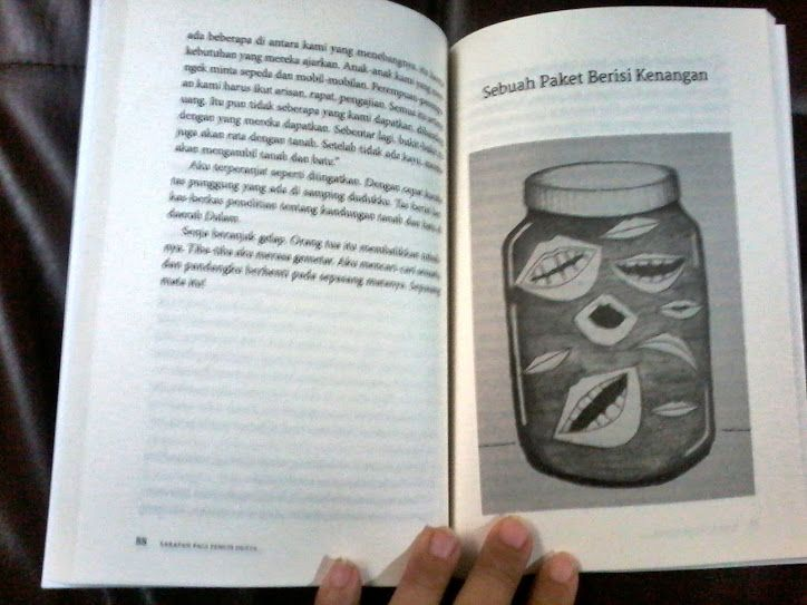 Portfolio: Sketsa-sketsa dalam Buku Sarapan Pagi Penuh Dusta