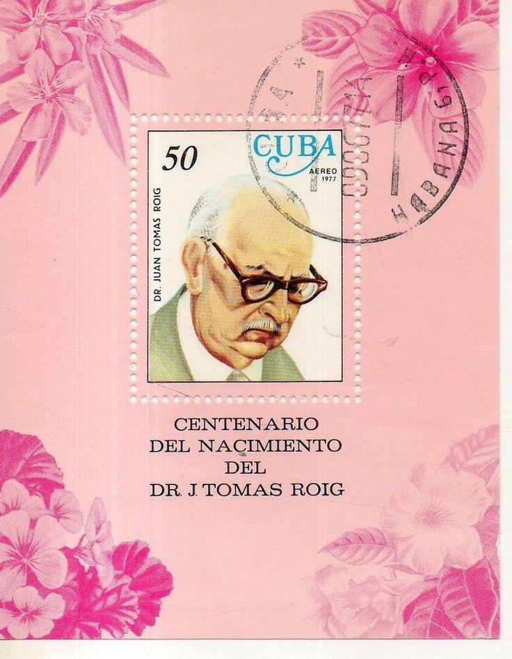 Доктор Дж. Томас-Роч 1977   Марки, Латинская Америка, Другие марки Латинской Америки   eBay!