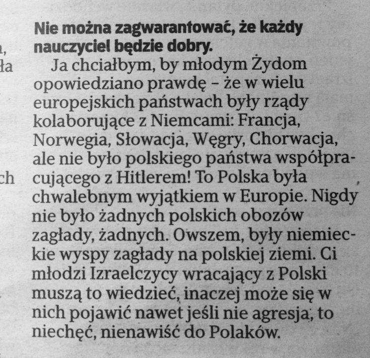 """Damian Cygan na Twitterze: """"Bardzo ważne słowa prof. Szewacha Weissa w dzisiejszej @rzeczpospolita https://t.co/AnLzRRPNOW"""""""