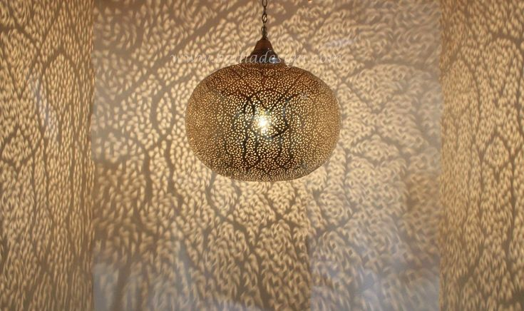Large Round Silver Chandelier - CH226, Moroccan hand punched hanging lantern, Moroccan brass lantern,  (http://www.badiadesign.com/large-round-moroccan-silver-chandelier-ch226/)