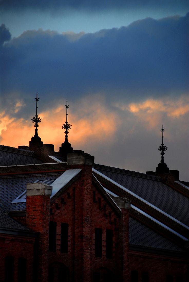 みなとみらい 横浜 サンセット 夕焼け sunset 赤レンガ倉庫