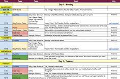 Exemple de calendrier de contenu digital (pourquoi et comment s'en servir)
