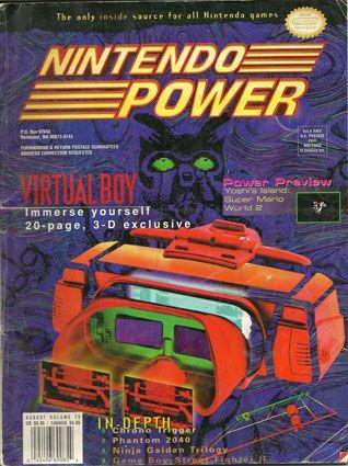 The Virtual Boy. Alas, you were a sucessful failure.