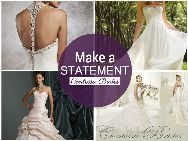 How will you take your groom's breathe away on your wedding day? Start with a gorgeous wedding gown, like these from Contessa Brides (featured in our JUNE edition, on shelf now!) See page 13.