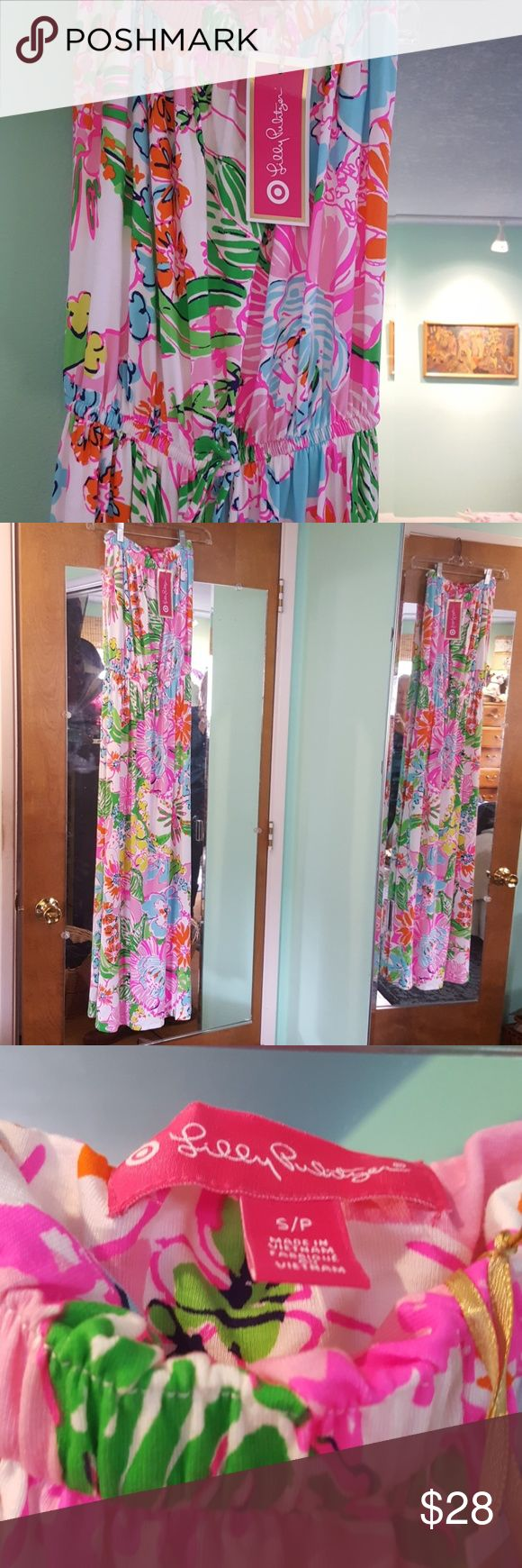 Lilly Pulitzer for Target Maxi Sleeveless Dress This is a fun Lilly Pulitzer Maxi dress. Such a pretty print! NWT. Lilly Pulitzer for Target Dresses Maxi
