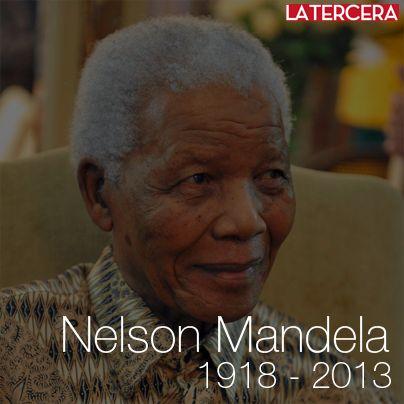 Muere Nelson #Mandela a los 95 años: El Premio Nobel de La Paz fue internado en el hospital de Pretoria el 8 de junio con una grave pulmonía, donde fue tratado durante casi tres meses.