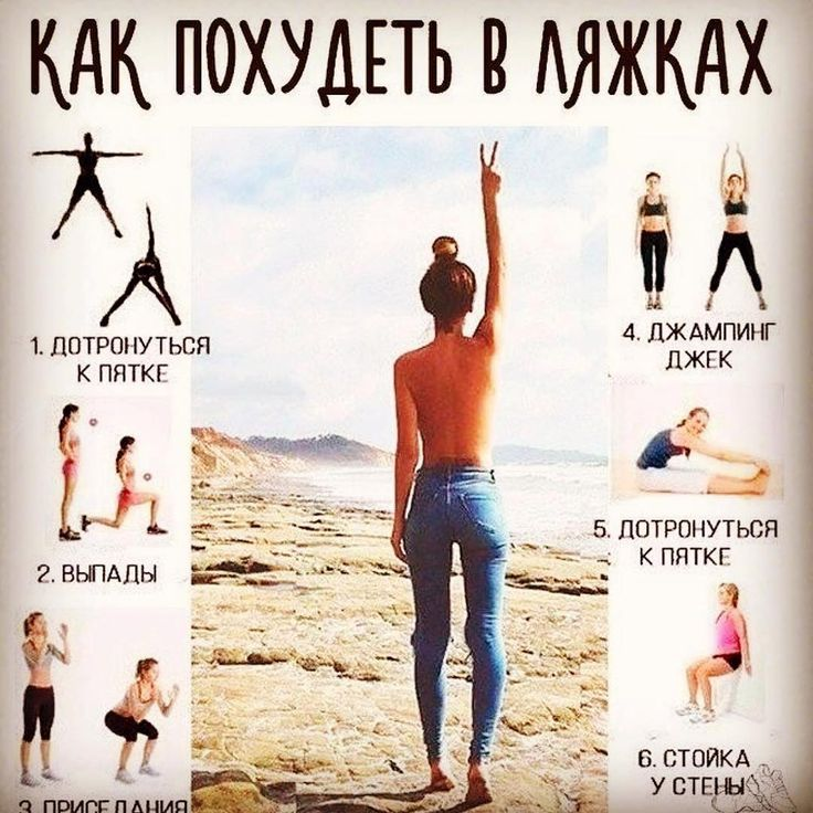 Упражнения ляжки похудели