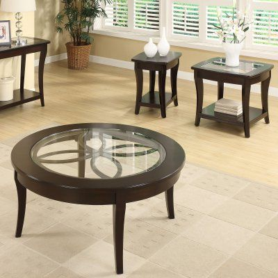 Riverside Annadale Round Coffee Table Set - RVS1850-1