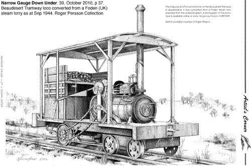 Foden Steam Lorry Conversion For The 3 6 Quot Gauge