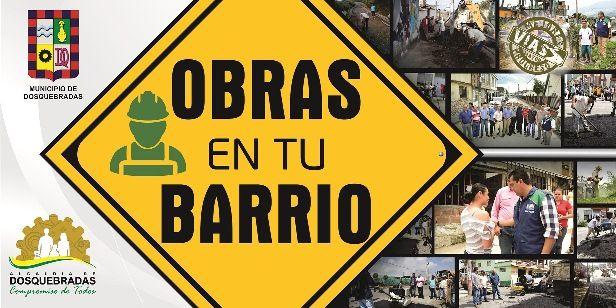"""El lunes, Alcaldía de Dosquebradas inicia el programa """"Obras en tu barrio"""""""