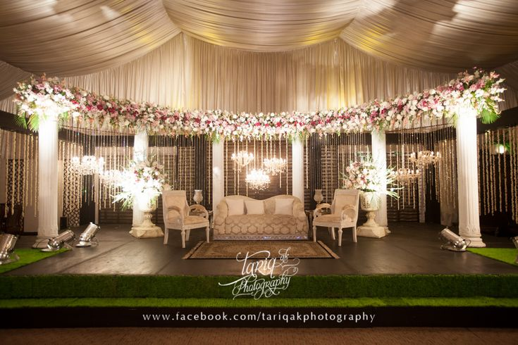Asian wedding stage wedding decorations pinterest for Asian wedding decoration