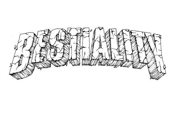 Bestiality - Artwork for Cover Album on Behance