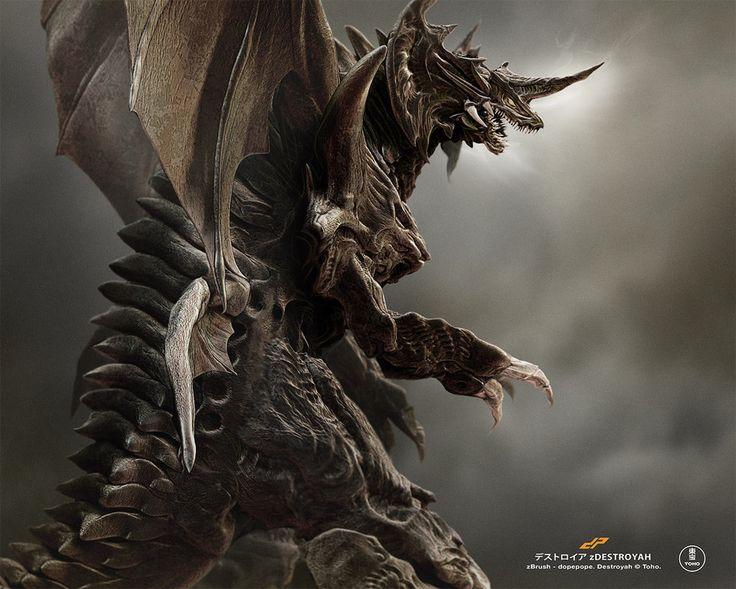 zDESTROYAH full by dopepope on DeviantArt | Godzilla ...