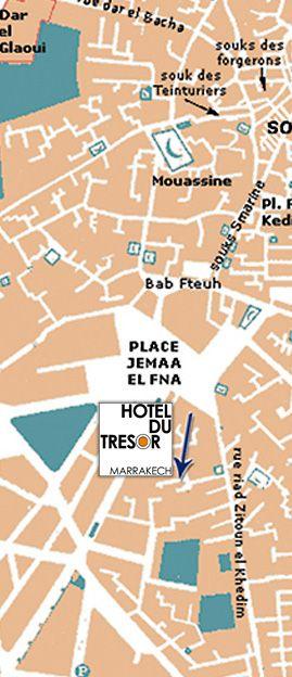 Whereabout : Hotel du Tresor