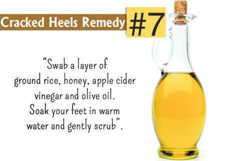 Home Remedies For Cracked Heels - Rice Flour