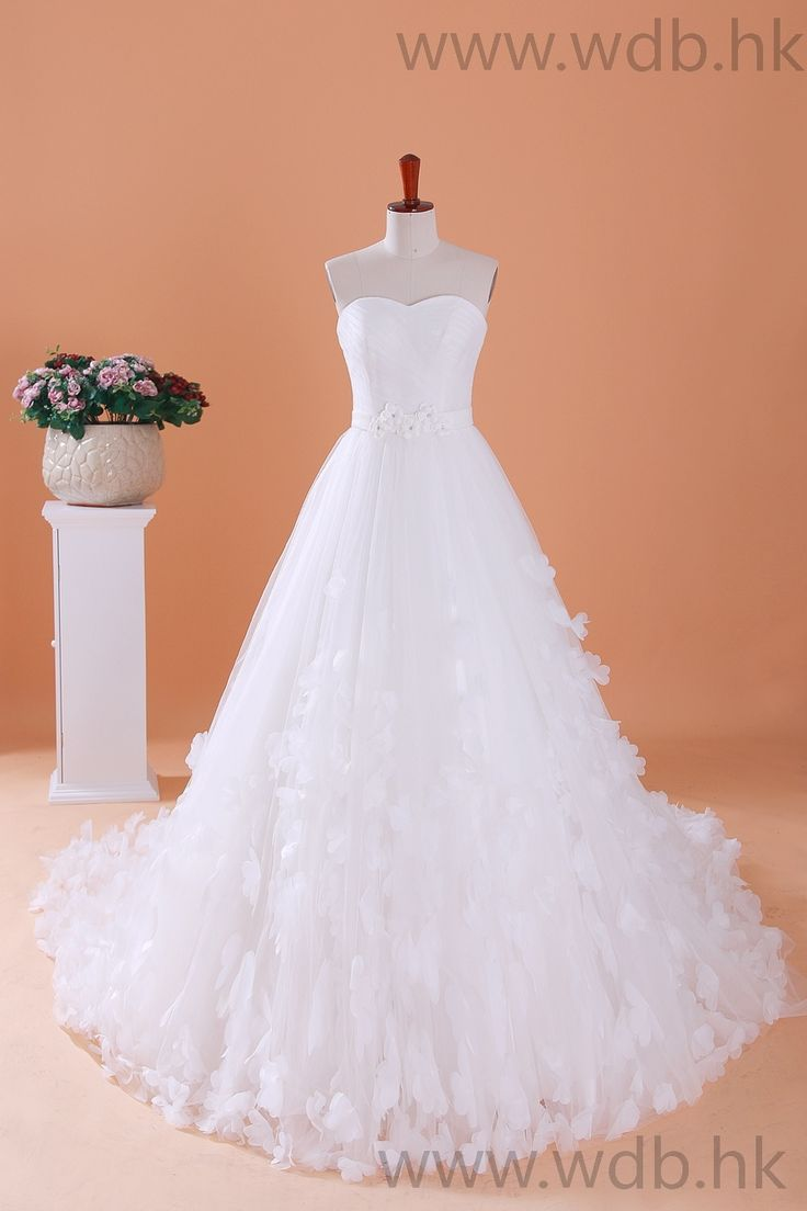 108 best dresses for specials events images on pinterest for Cute princess wedding dresses