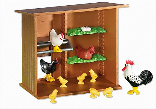 Playmobil Poulailler avec animaux 12,20€