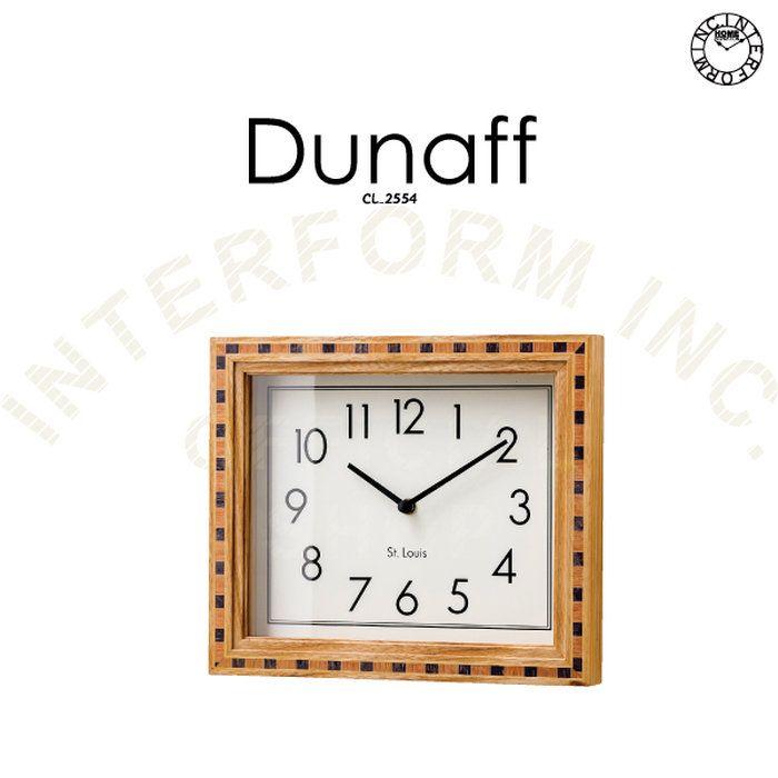 Dunaff[デュナフ]■壁掛け時計|掛け時計【インターフォルム】