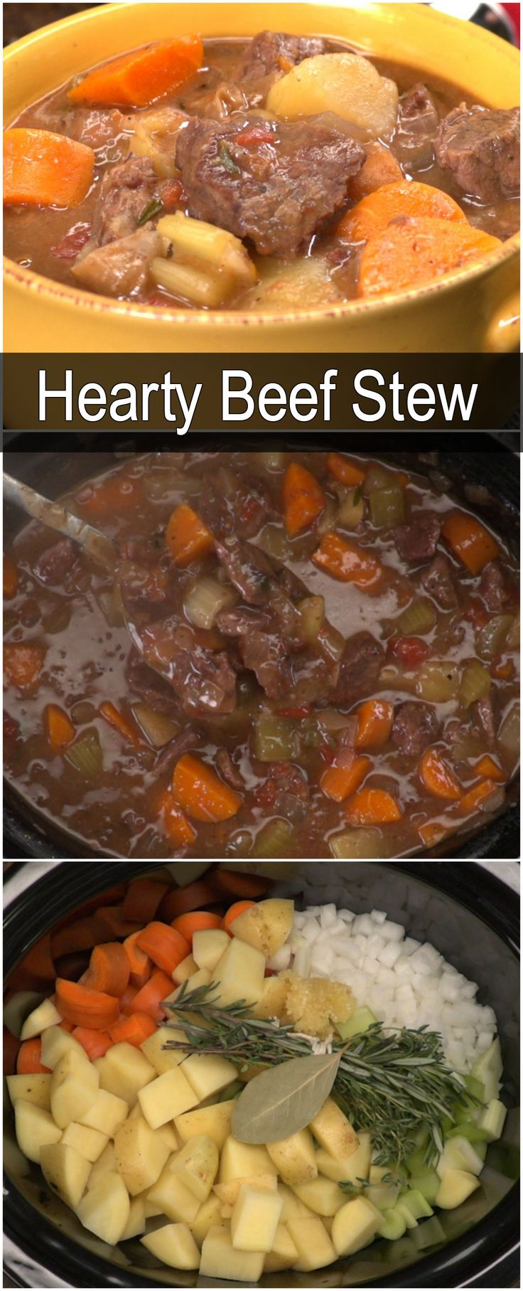 Slow cooker beef stew                                                                                                                                                                                 More