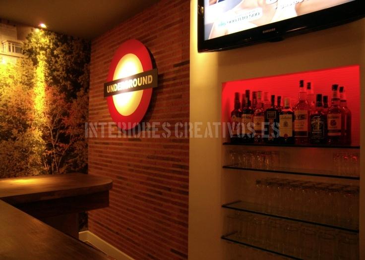 Bar Loft. Boecillo (Valladolid). Diseñado Por Www.interiorescreativos.es.