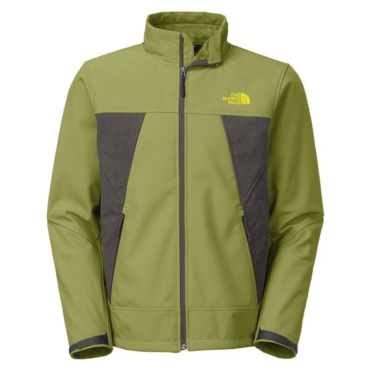 The North Face Apex Chromium Soft Shell Thermal Ski Winter Coat Jacket Green L⛷ #TheNorthFace #BasicJacket