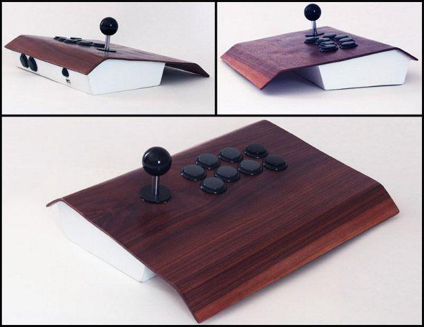 Xbox arcade controller from designer Nick Santillan
