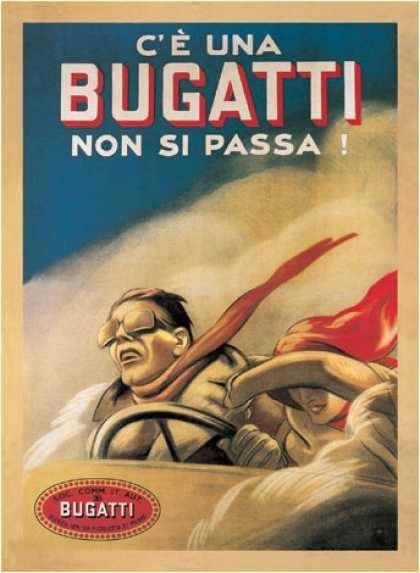 Bugatti affiche 1922 par Duduwich
