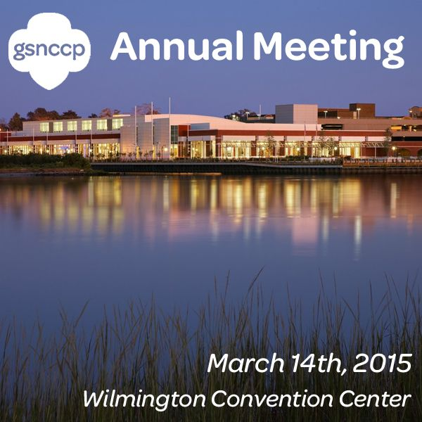 We're getting SO excited! Our Annual Meeting is being held at the Wilmington Convention Center this year and we can't wait! Stay tuned for more details as we get closer…we hope to see you there!