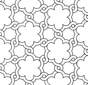 Islamic Patterns and Geometry | the panikon gallery of islamic geometrical pattern geometric pattern ...
