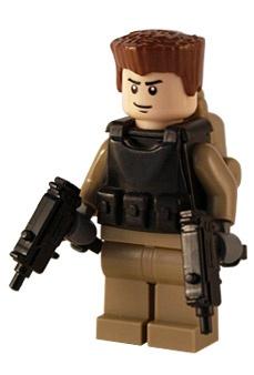 Task Force - Dualwield - Custom Lego Figure