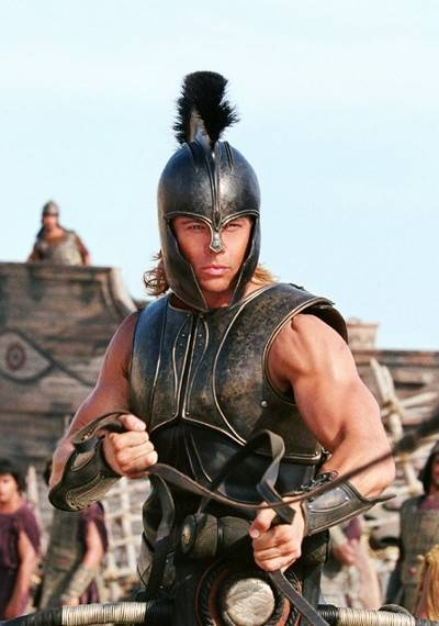 "TROY! I love love this movie. I could watch this over and over. ""Sack of wine"":"