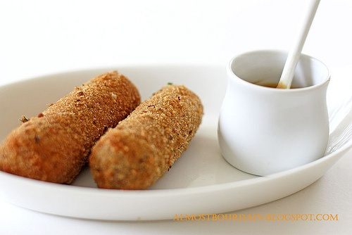 Dutch Kroketten (croquettes) are my all time favorite.. a little bit of work, but sooo worth it!