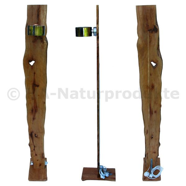 Great Designer Stehlampe cm Birnbaumholz