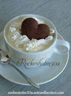A beautiful and tasty hot chocolate!