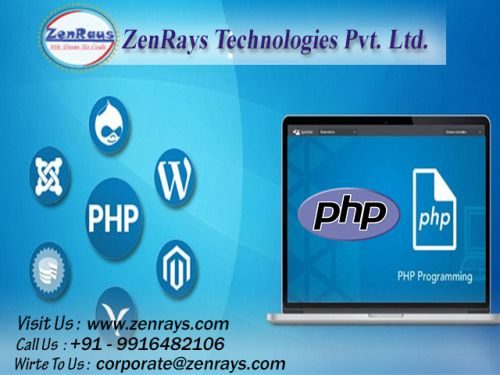 At ZenRays, we provide you the complete training for #PHP covering BASIC concepts to the ADVANCED one with experienced industry experts. Work on powerful #MVC #PHP framework, #Laravel. Click to know more http://www.zenrays.com/php-training
